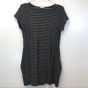 Soprano Striped T-shirt dress